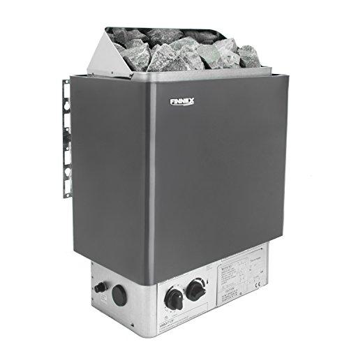 Saunaofen mit integrierter Steuerung und Überhitzungsschutz(9.0kw...