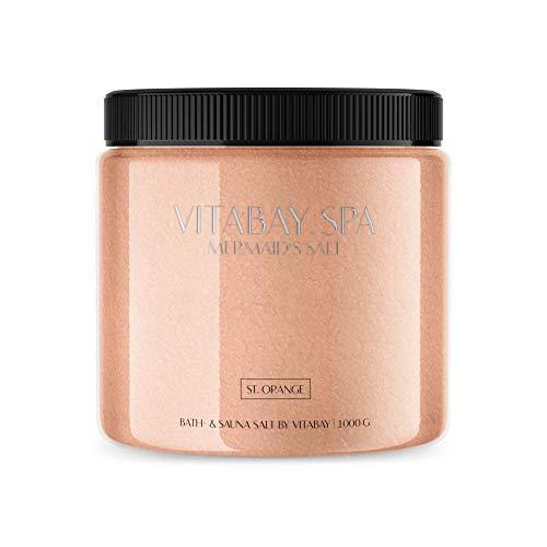 Vitabay Sauna- und Badesalz St. Orange 1000 g • Sanftes...